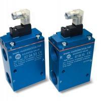 Zawory podciśnieniowe sterowane pneumatycznie Vuototecnica
