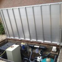 Zastosowanie sprężyn gazowych w pokrywie filtra