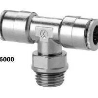 Trójnik wtykowy Camozzi - Seria 6000