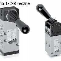 Zawory ręczne Camozzi - Serie 1,2,3