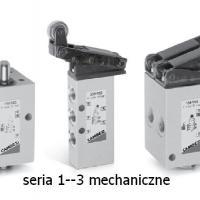 Zawory mechaniczne Camozzi - Serie 1 i 3