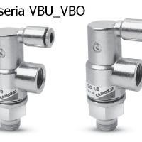 Zawory Camozzi - Seria VBU i VBO
