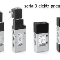 Zawory elektryczno-pneumatyczne Camozzi - Seria 3